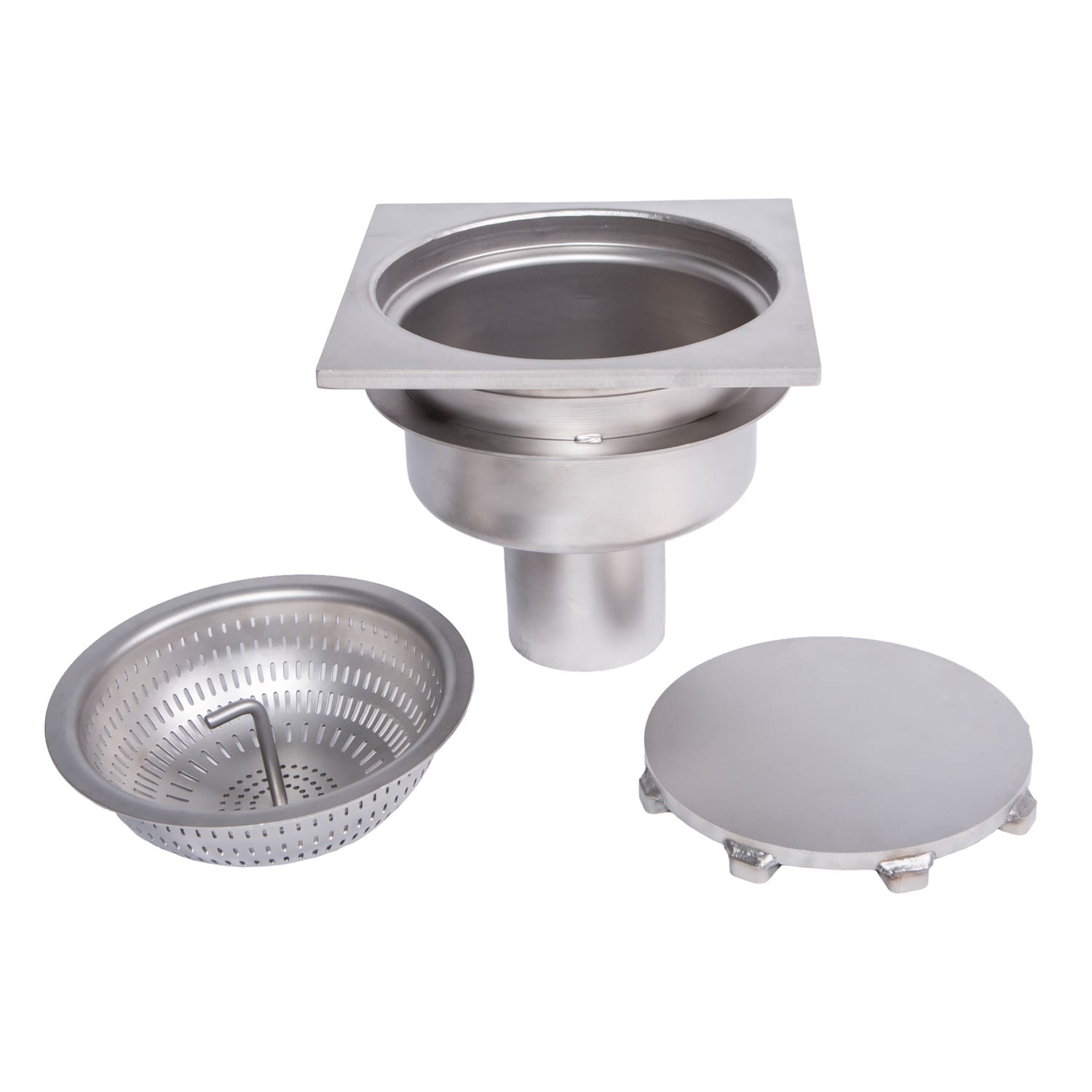 Floor drain baskets stainless steel awi manufacturing